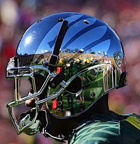 Oregon Ducks Liquid Metal Helmet Awesome Oregon Ducks Football