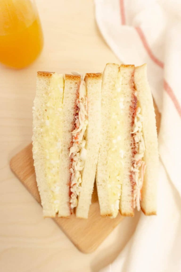 Inkigayo Sandwich Korean Trendy Sandwich Chopsticks And Flour Recipe Food Recipes Sandwiches
