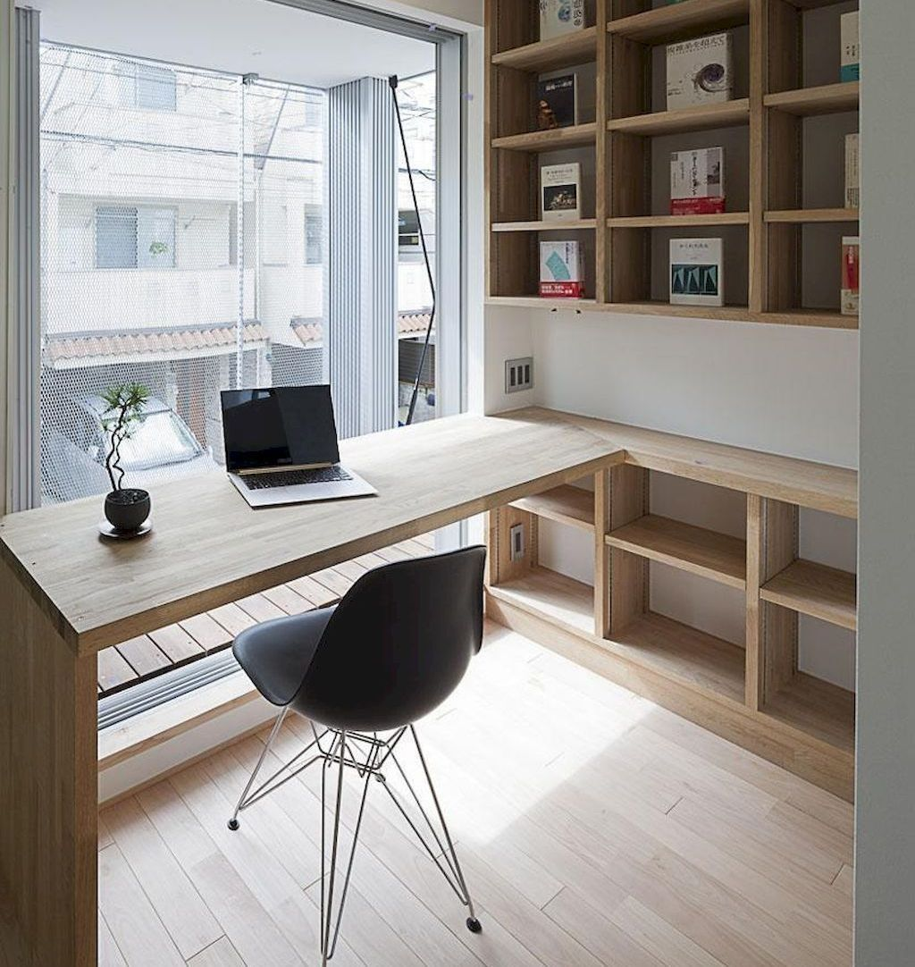 Cool 36 Creative Small Home Office Design Ideas Home Office Design Modern Home Office Office Interiors