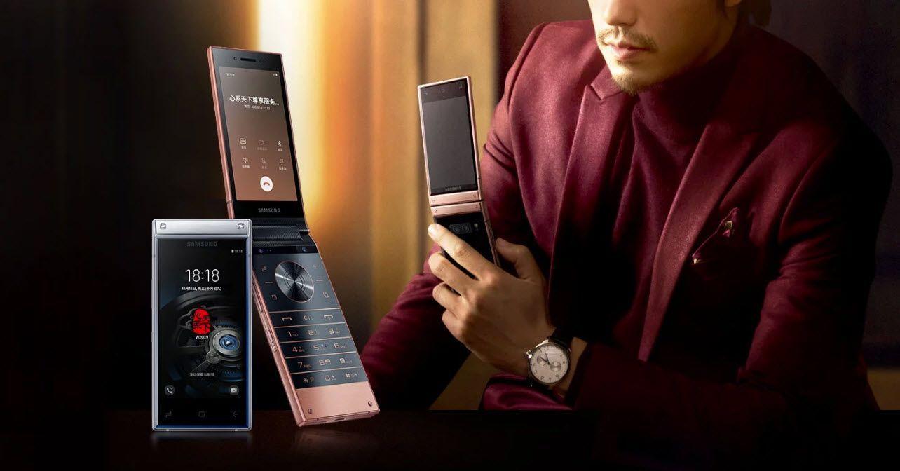 تقرير جديد يكشف عن بعض التفاصيل حول الهاتف الرائد الصدفي القادم Samsung W2020 Flip Phones Samsung Samsung Device