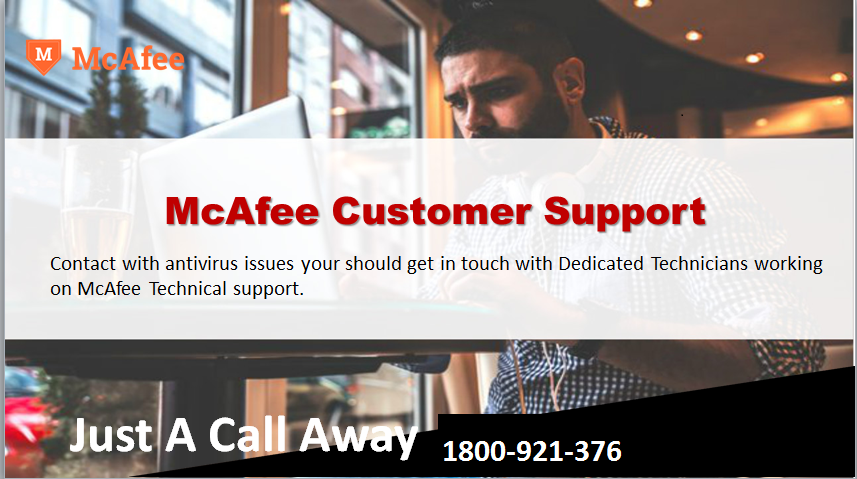 McAfee Provides the best security to laptops, computers