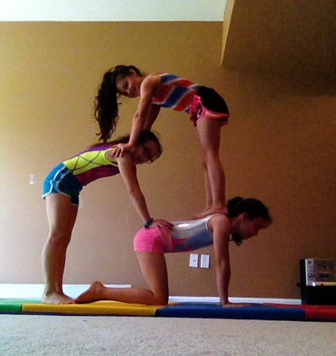 3 Person Acro Stunts Acro Yoga Poses Three Person Yoga Poses Partner Yoga Poses
