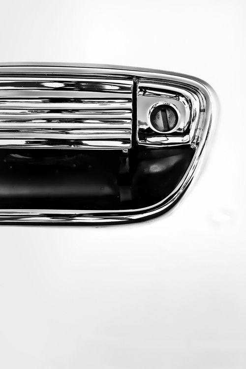 Autographos Door Handle Black And White Photography Chrome Vintage Car Vintage Cars Black And White Photography Car