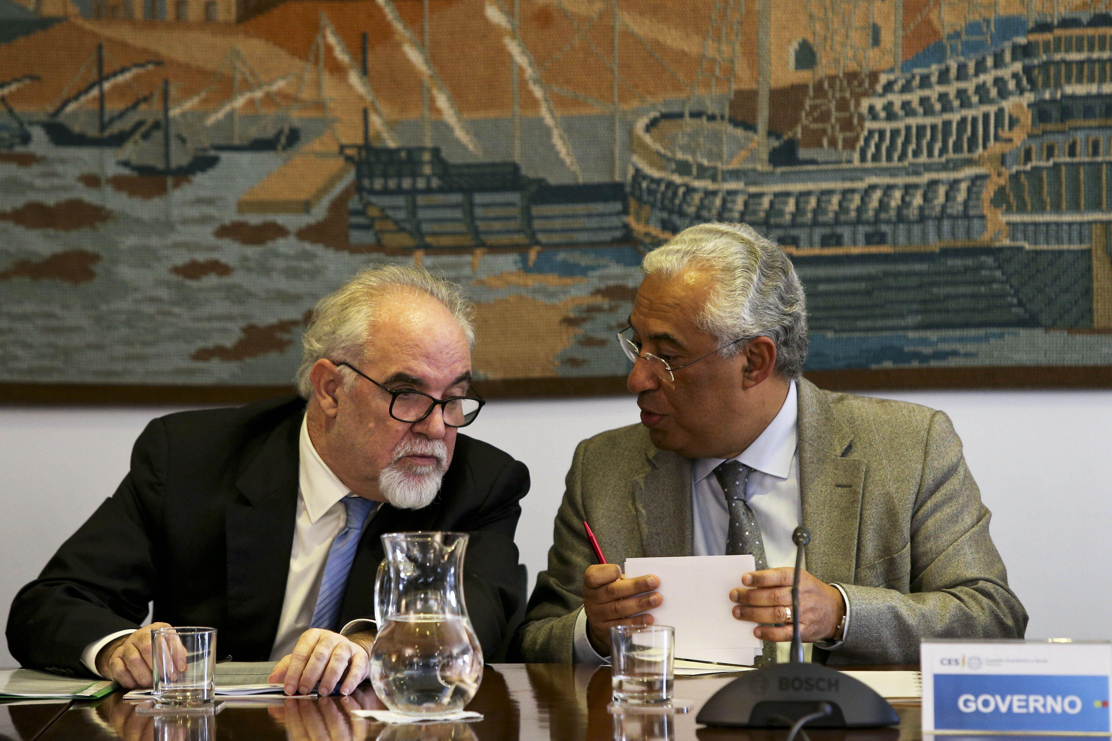 O governo, parceiros sociais e UGT usaram o voto eletrónico para assinar o acordo tripartido que aumenta o SMN e reduz a taxa social única em 1,25 pp.
