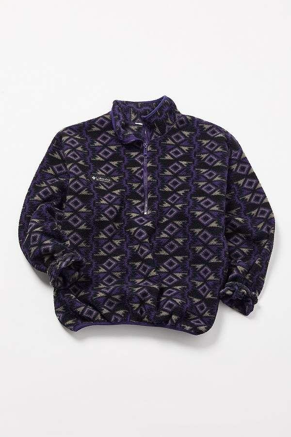 Columbia Geo Fleece Half Zip Jacket #colorway#purple#dark