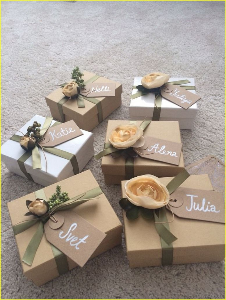 Cool 70 Best Bridesmaid Gifts Diy Cheap And Simple Wedding Gifts For Bridesmaids Gifts For Wedding Party Wedding Gifts Packaging