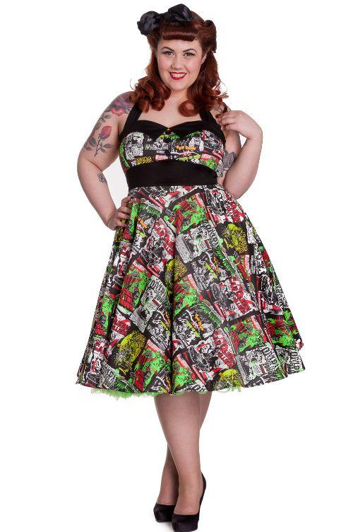 Domino Dollhouse Plus Size Clothing B Movie Dress Wish List