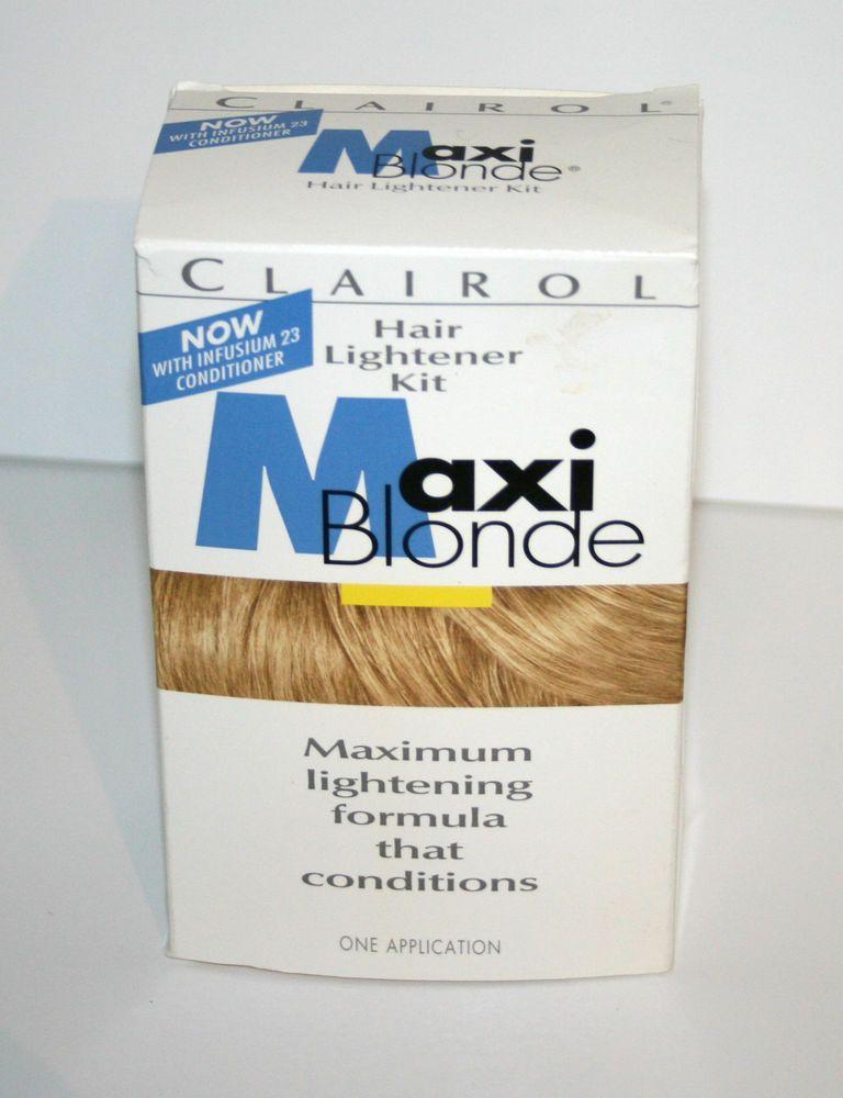 Vintage 1996 Clairol Maxi Blonde Hair Lightener Kit