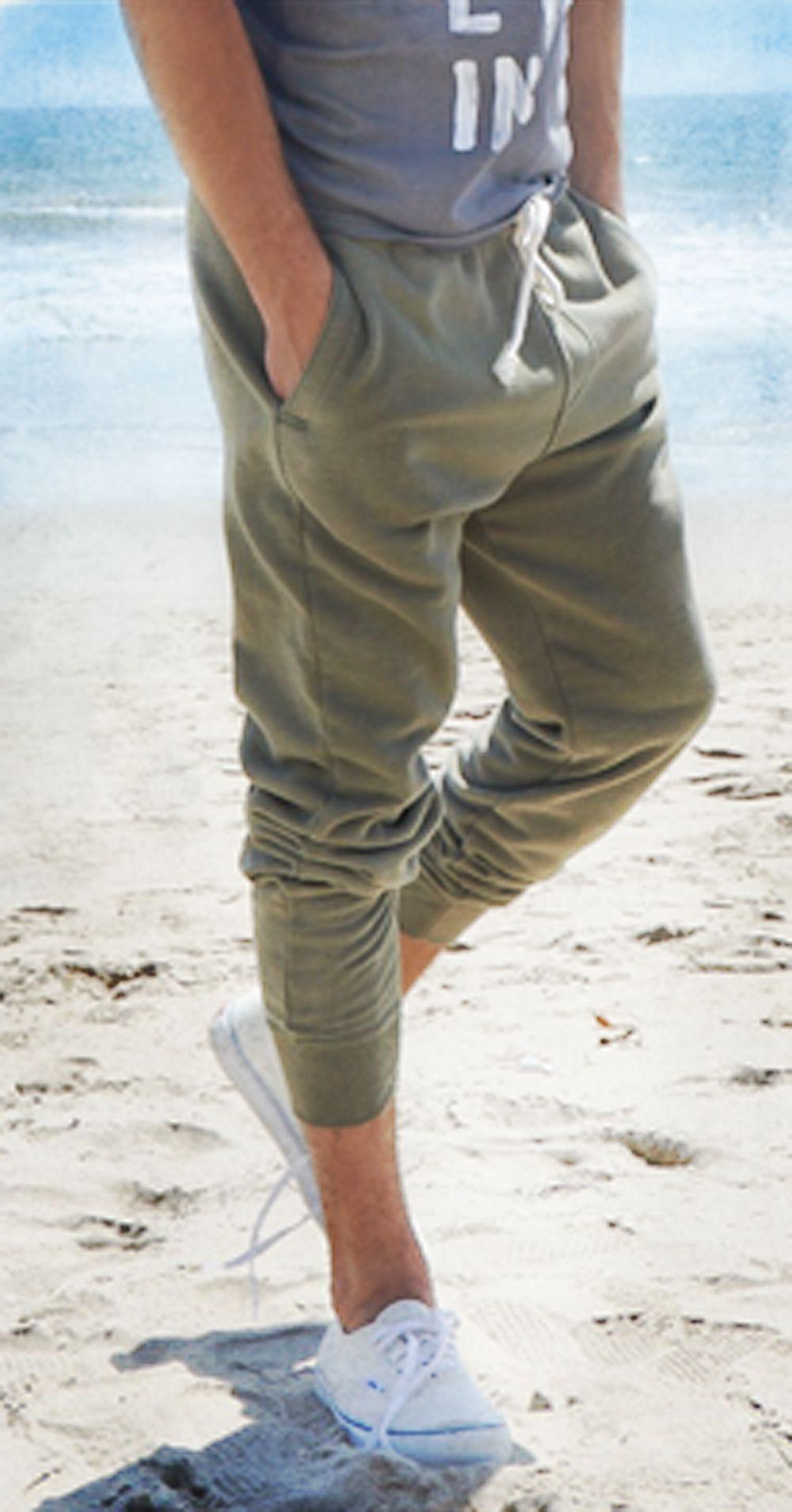 hollister joggers mens