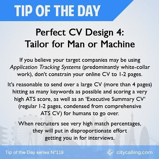 Any company large enough to have their own human resources department is reasonably likely to use ATS #TipOfTheDay  #job #jobs #jobinterview #work #jobhunting #jobinterview #interview #jobapplication #newjob #inspiration #inspirational #careerpath #careers #career #callback #needajob #unemployedlife #helpmeimpoor #newjob #cv #resume #curriculumvitae #jobsearch #hiring #joboffer #jobneeded #lookingforajob #learningnewthings #success