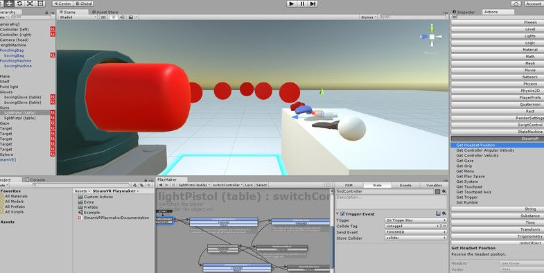 Steam VR Playmaker - Toolkit #Playmaker#VR#Steam#Systems | Abstract
