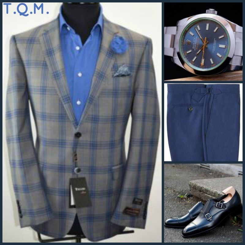 Casual Friday Nightout Style Italian Suit Outlet Blazer