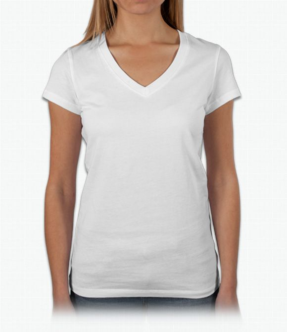 Shirt Trend White V Neck T Template Ydxmleh Custom Shirts Design Your Free Shipping