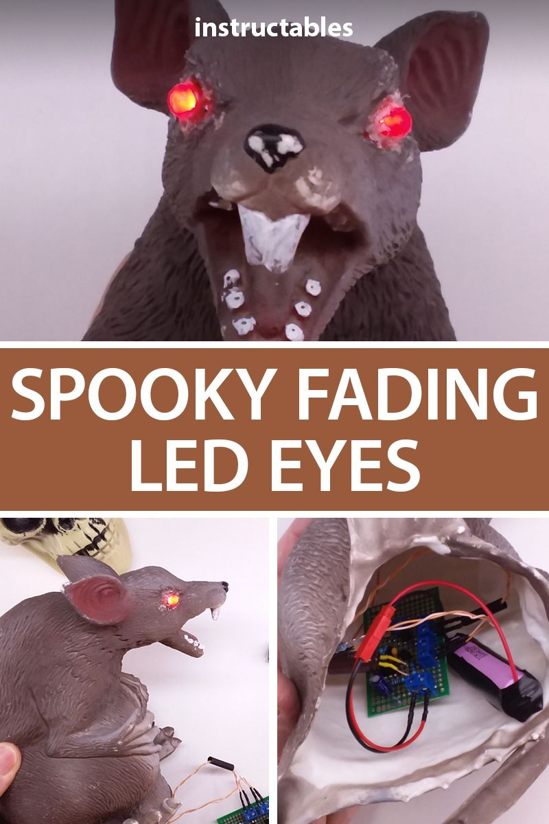Small Usb Halloween 2020 Decorations Try out this circuit for spooky fading LED eyes that runs on as