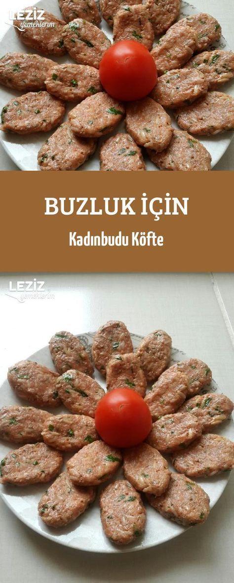 Photo of Kadınbudu Meatballs for Ice Tray – My Delicious …