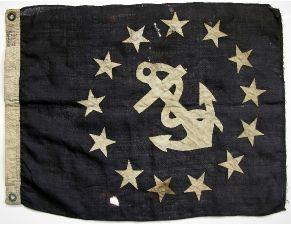 old anchor flag