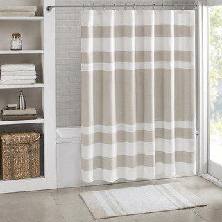 Porch Den Niantic Shower Curtain With 3m Treatment