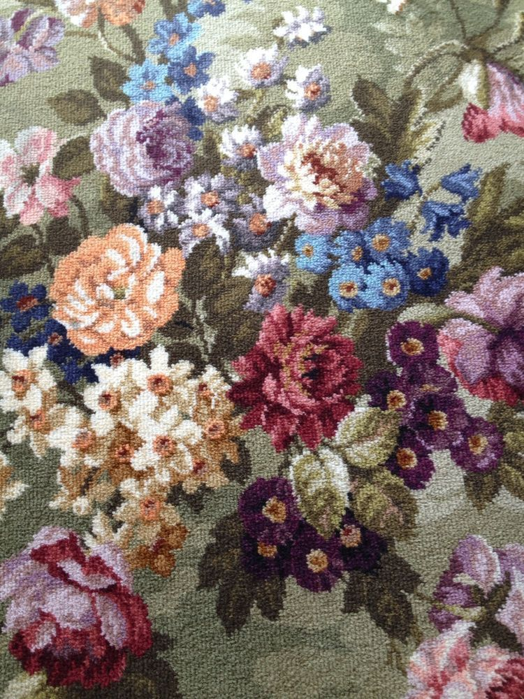Axminster Carpet By Crossley Florence Pattern Vintage 1