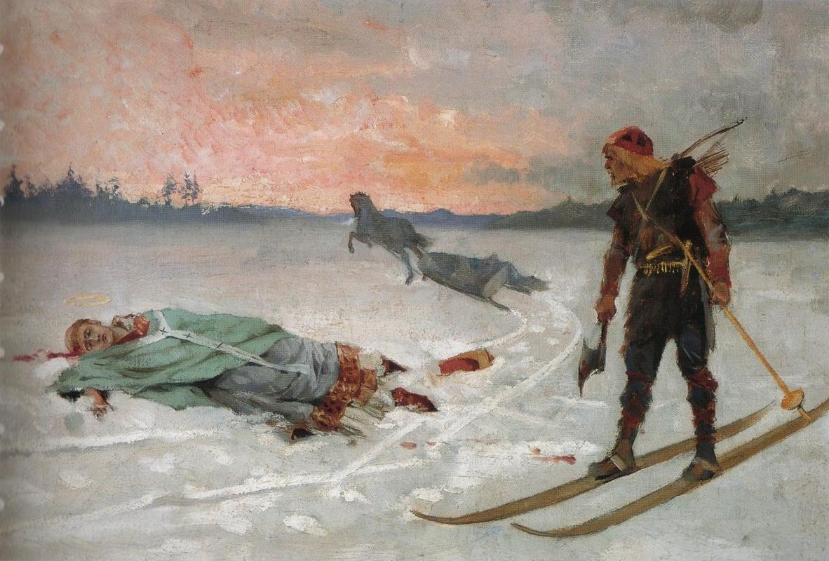 Pyhässä pilvessä: Piispa Henrik ja Lalli - suomalaisten suunnannäyttäjät?