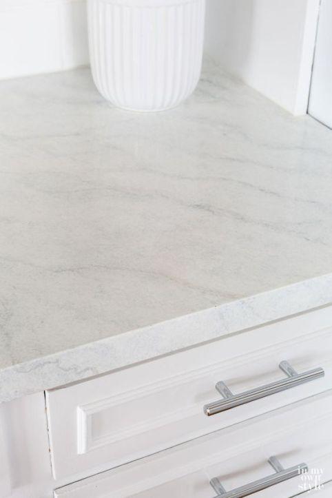 Diy White Marble Countertops Giani White Diamond Kit Click Image To Shop Painting Kitchen Countertops Kitchen Remodel Countertops Giani Countertops