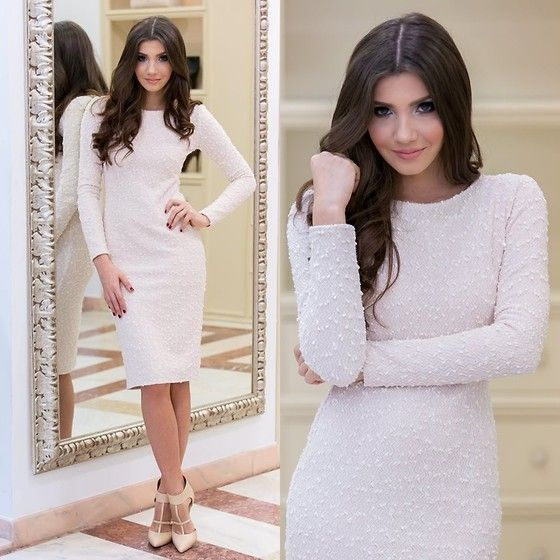 Get this look: http://lb.nu/look/6857182  More looks by Larisa Costea: http://lb.nu/themysteriousgirl  Items in this look:  Miss Grey Dress   #chic #elegant #street