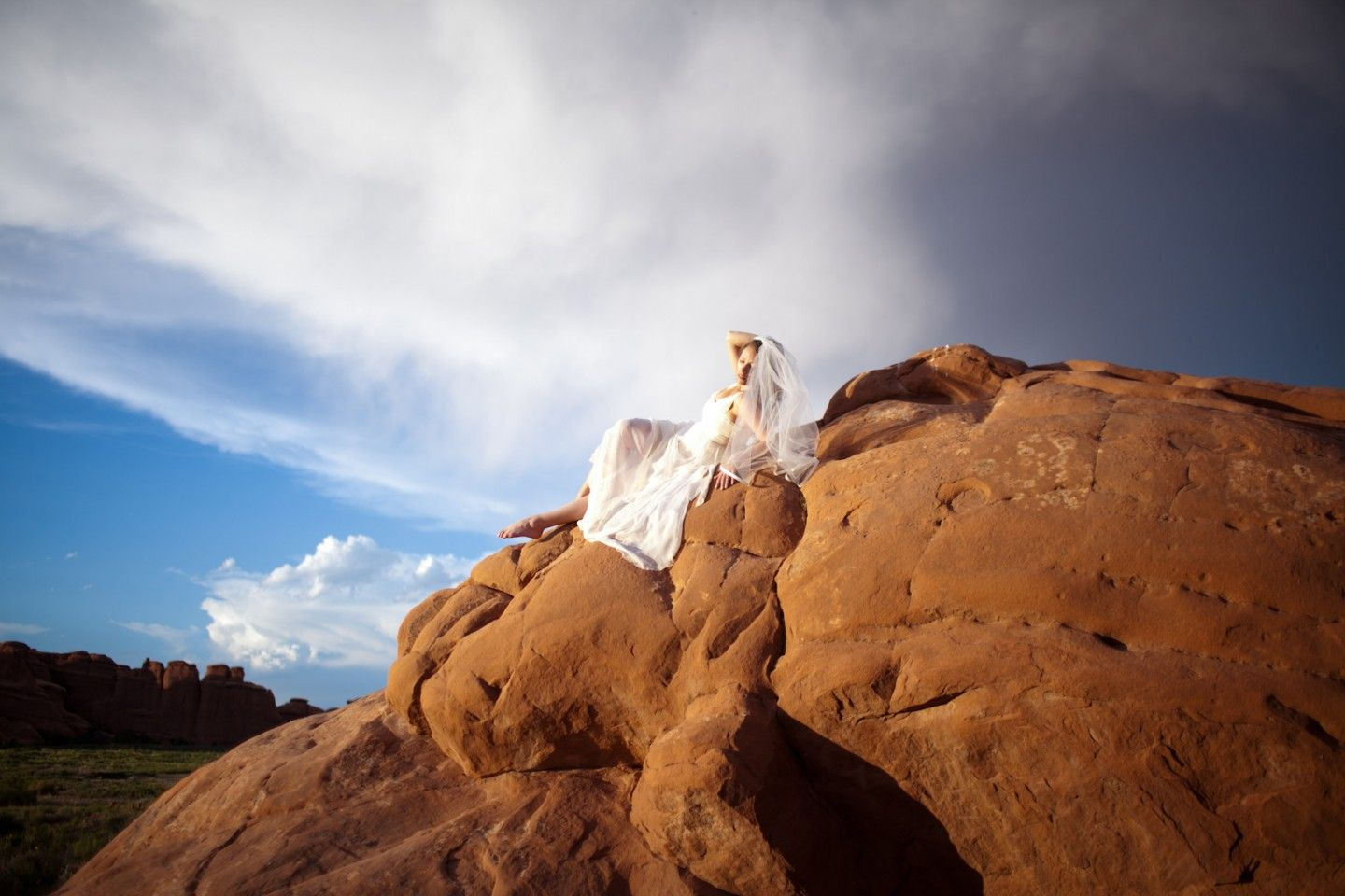 Moab Arches National Park Rock the Dress San Diego