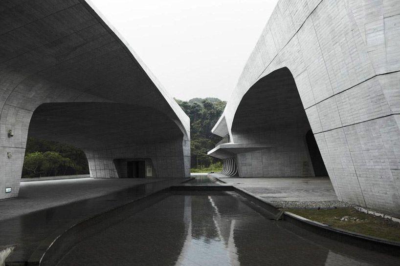 norihiko dan and associates: sun moon lake visitor center