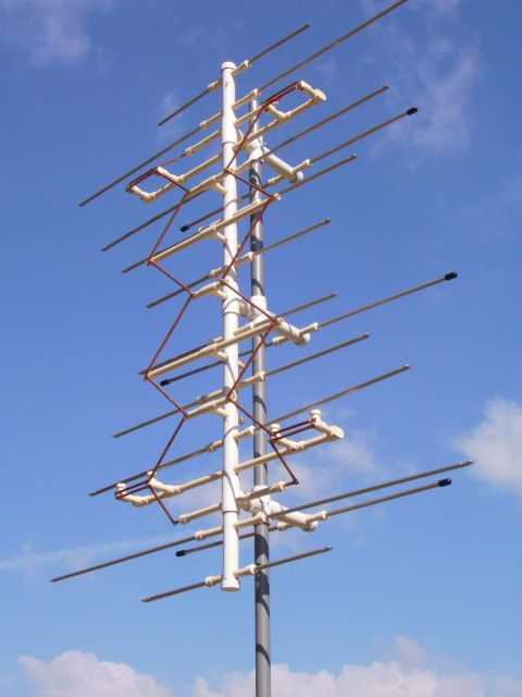 Grey Hoverman DYI Digital Antenna You Cant Buy An Of This Quality But Sure Can Make One