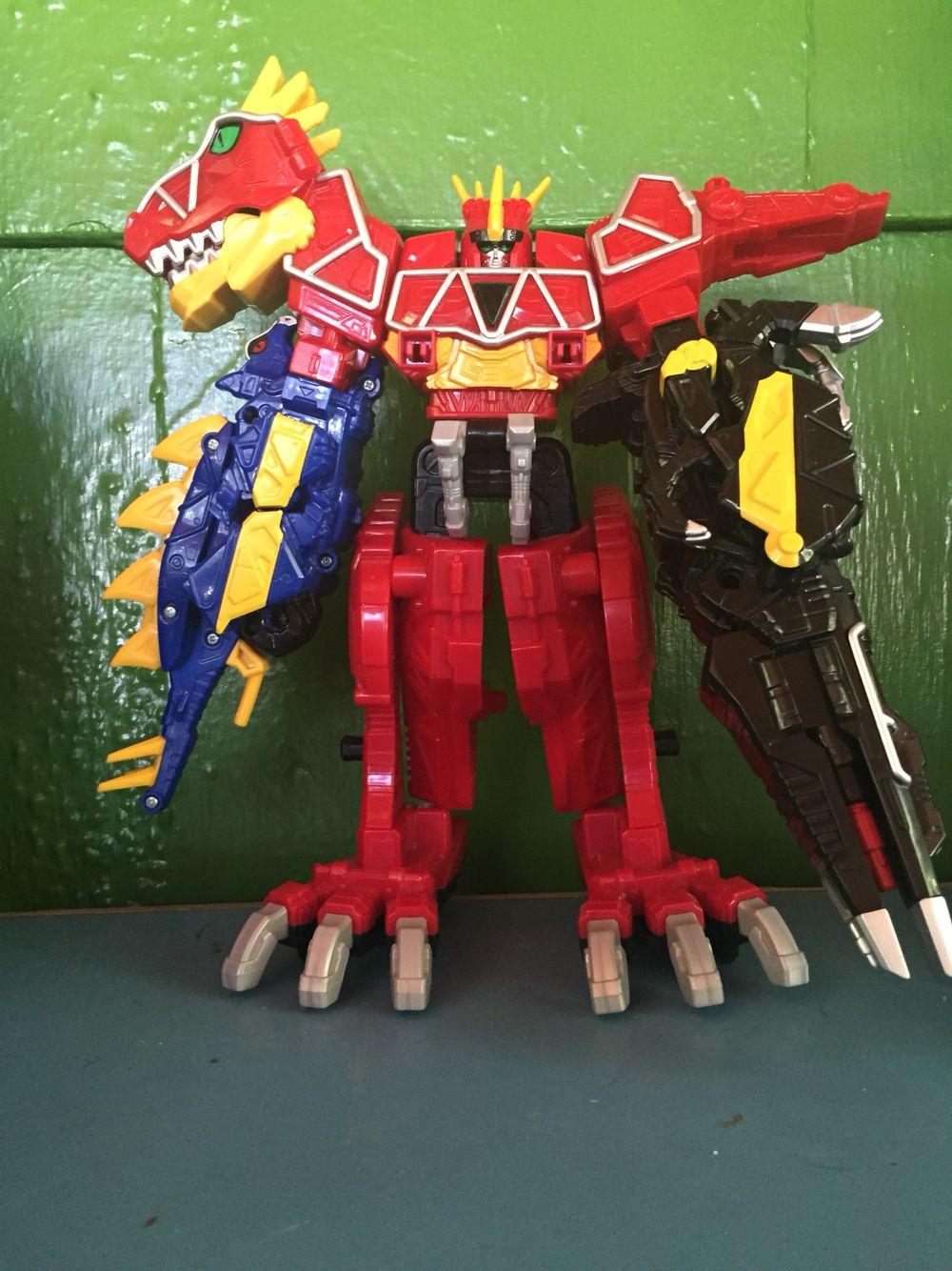Stego-Para Megazord | Dino charge zords | Pinterest