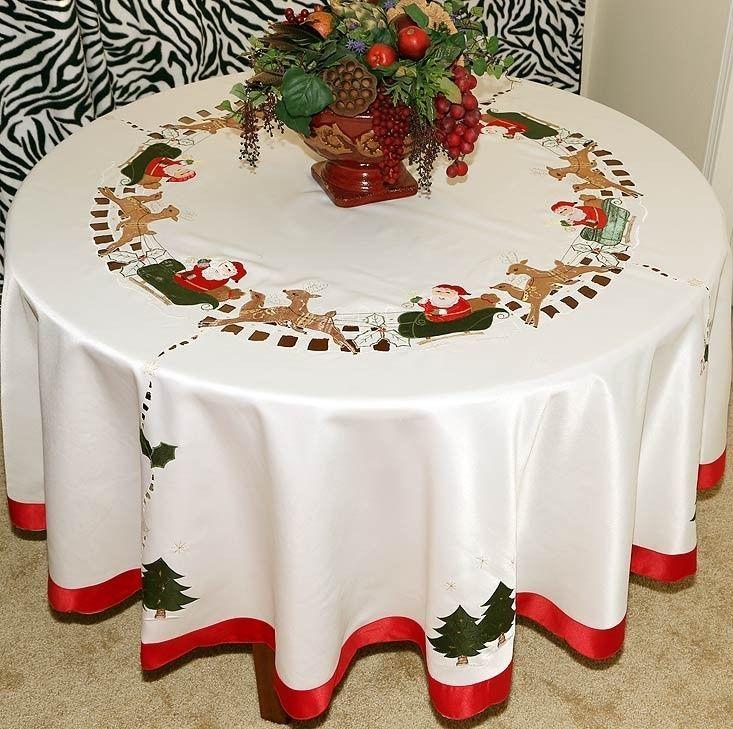 Christmas Tablecloths And Napkins | 1000x1000 | ChRiStMaS .