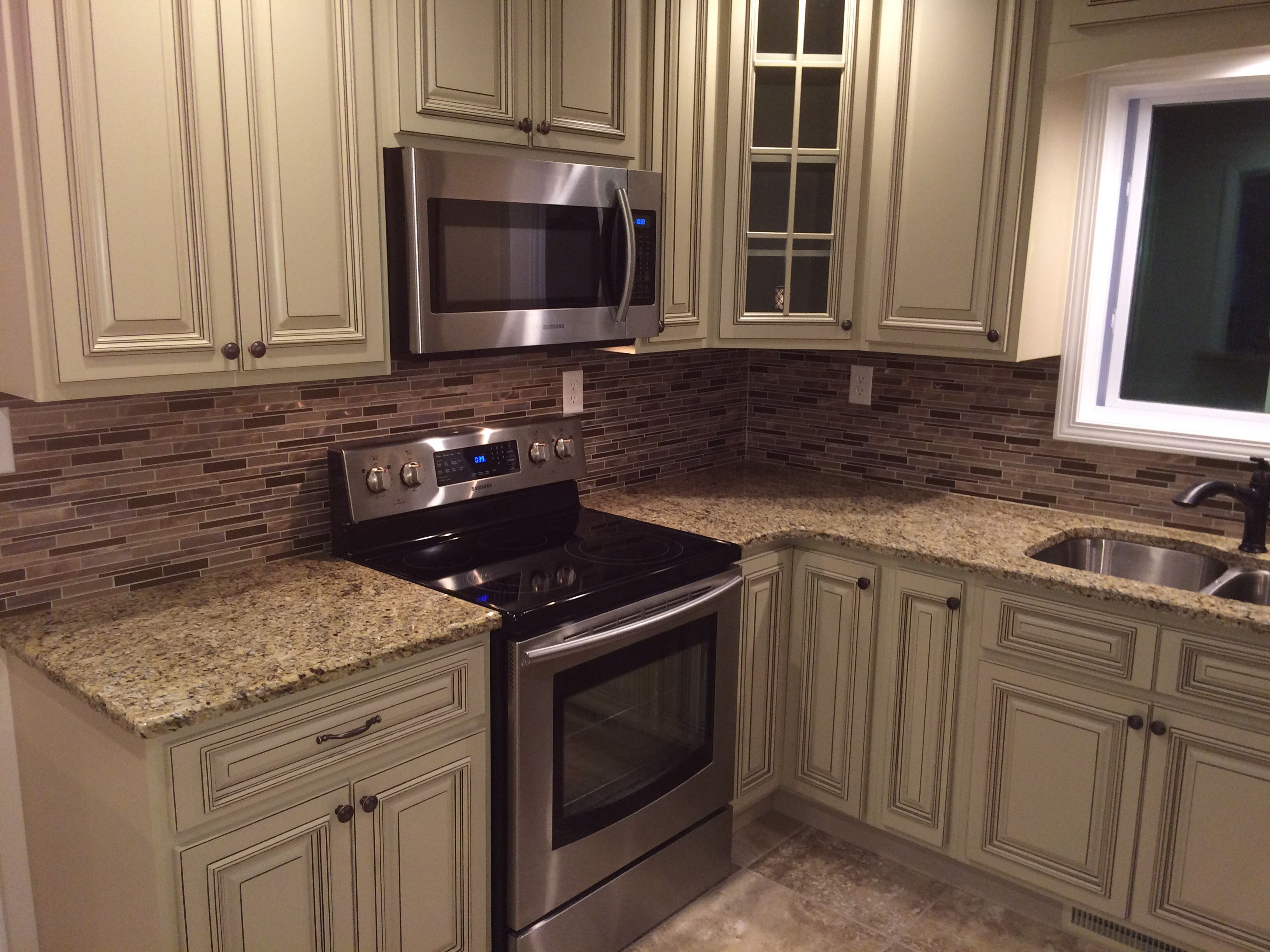 Our Beautiful In Stock Heritage White Cabinets Thanks Aaron Newman For The Pics Kitchen Design House Makeovers Custom Kitchens