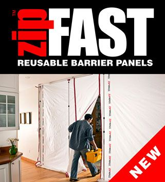 Dust Barrier System Construction Dust Control Zipwall Containment With Images Barrier Remodel System