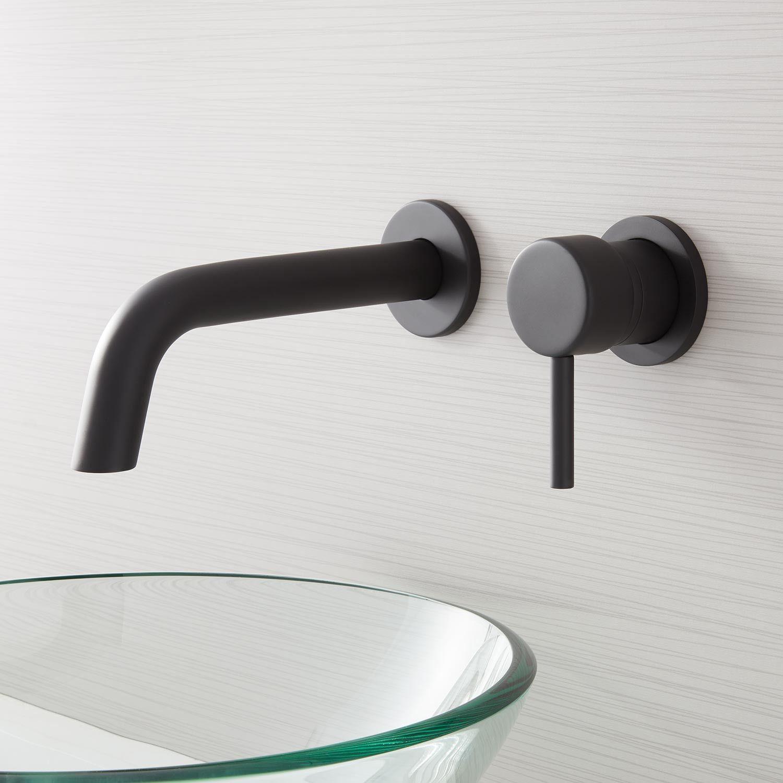 Rotunda Wall Mount Bathroom Faucet Wall Mount Faucet Bathroom Bathroom Faucets Modern Faucet [ 1500 x 1500 Pixel ]