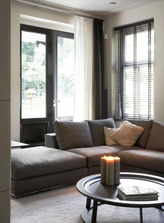 Hoekbank voor de woonkamer | Home design ideas | Pinterest ...