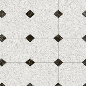 Trafficmaster Black And White Marble Paver 12 Ft Wide X Your Choice Length Residential Vinyl Sheet U1100 40 Vinyl Flooring Vinyl Flooring Kitchen Vinyl Sheets