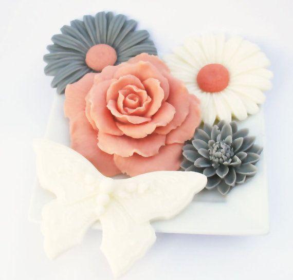 Joan Spring Soap Decorative Set Daisy