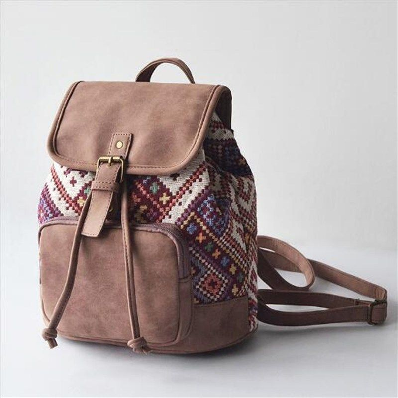 Boho Canvas Backpack - Everyday Tranquility #teenagegirlclothes