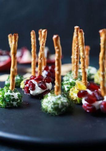Klein, fein und mit einem Haps im Mund: Diese genialen Food Pops Rezepte machen dich zur Party-Gött #thanksgivingfood