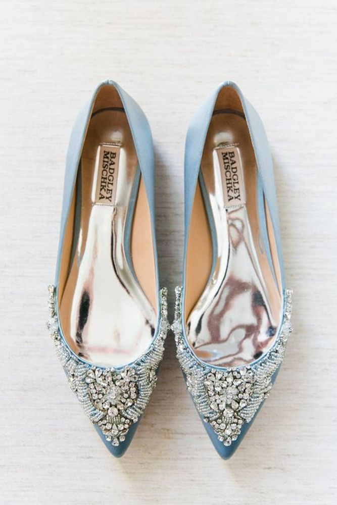 Flat Wedding Shoes To Dance All Night Bridalgown Weddingdress Wedding Shoes Flats Blue Wedding Shoes Wedding Shoes