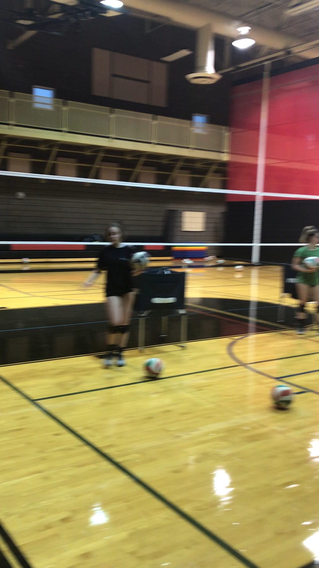 Volleyball Hitting Drills To Beat The Block Hit Corners Mix Up Shots Video Video Volleyball Drills Volleyball Workouts Coaching Volleyball