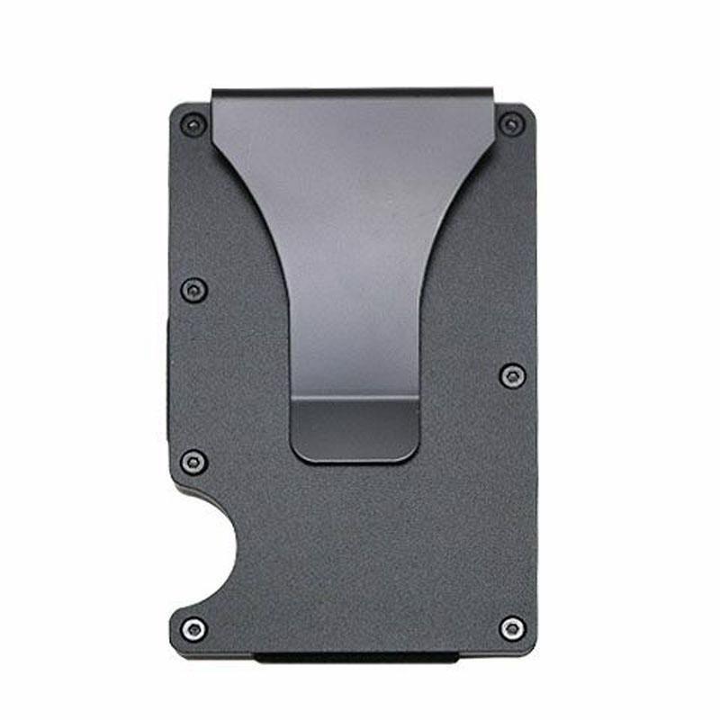 The Minimalist Wallet - Slim Mini Business Card Holder Aluminum ...