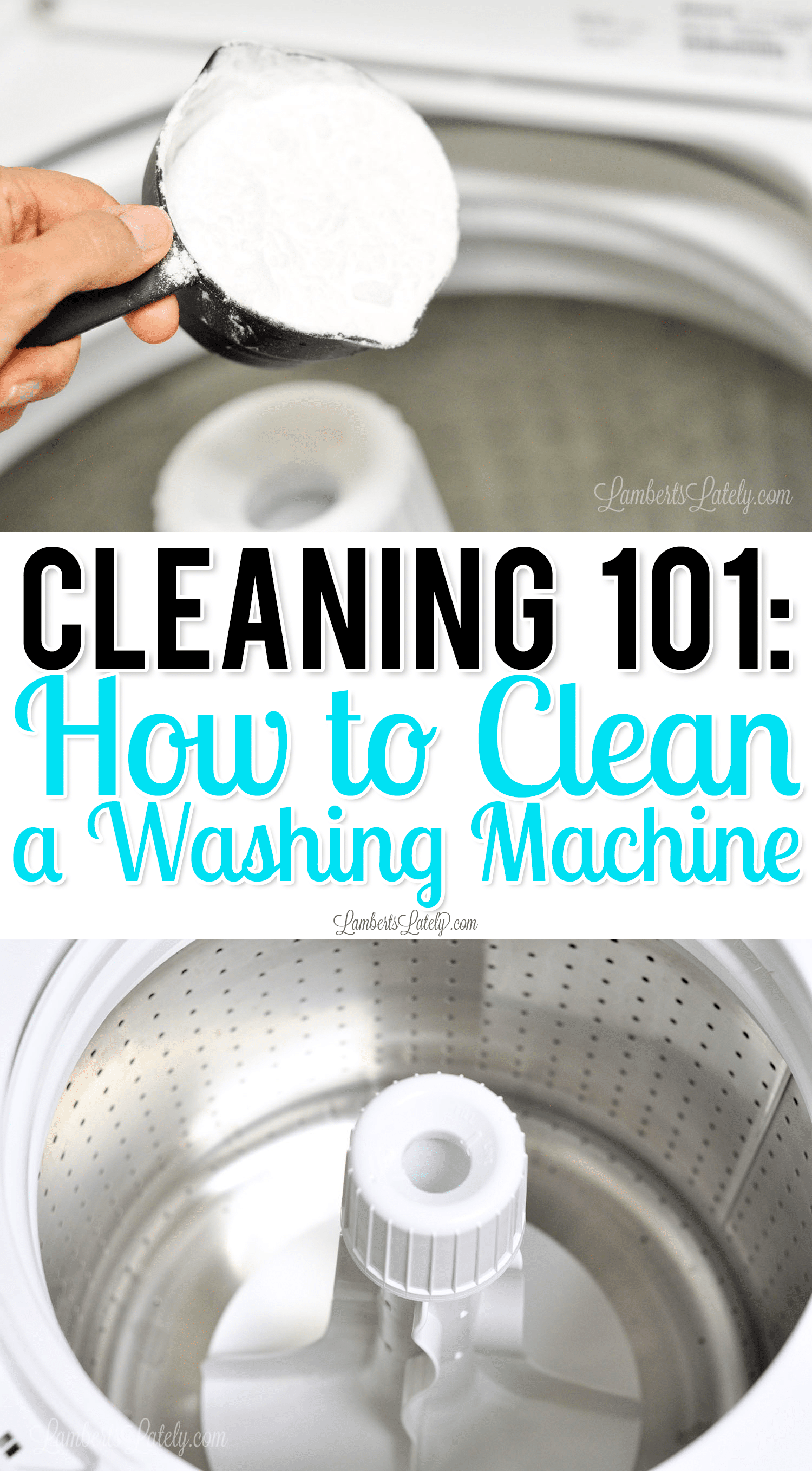 Cleaning 101: How to Clean a Top Loader Washing Ma