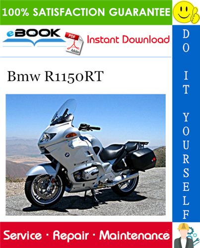 Bmw R1150rt Motorcycle Service Repair Manual In 2020 Repair Manuals Bmw Repair