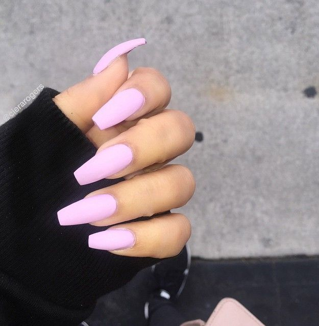 Most popular coffin nail designs to try yourself coffin nails baby pink matte most popular coffin nail designs to try yourself coffin nails solutioingenieria Gallery