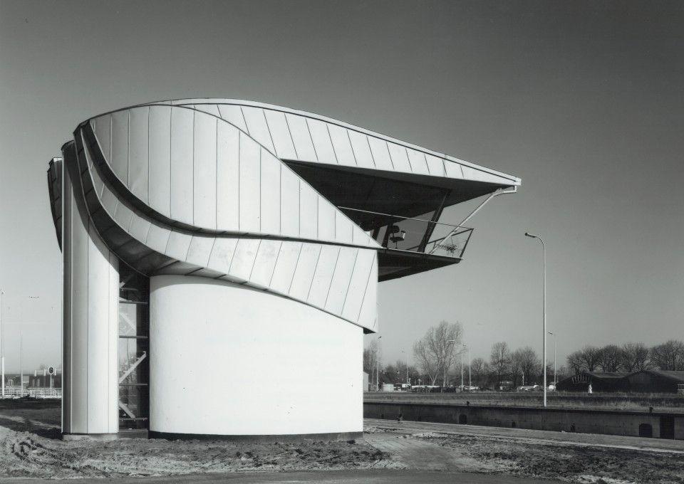 Bedieningsgebouw Oostersluis | Rene van Zuuk Architekten BV - Architectenbureau Almere, Flevoland