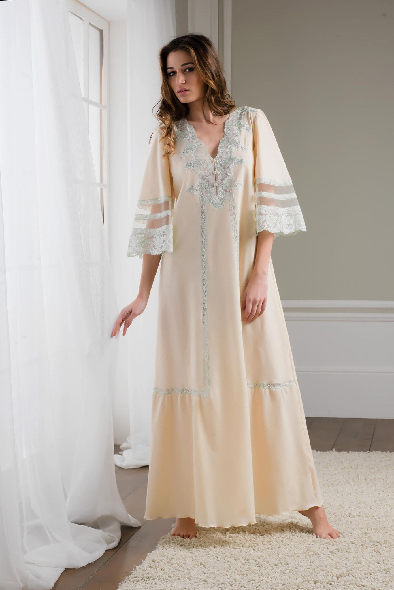 Victoria - Cotton Nightgown | Nightgown, Night gown and Lingerie