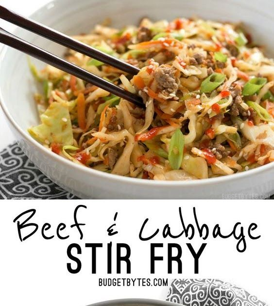 Ingredients:STIR FRY SAUCE : 2 Tbsp soy sauce ($0.18) 1 Tbsp toasted sesame oil ($0.33) 1 Tbsp sriracha* ( $0.05) 1/2 Tbsp #cabbagestirfry
