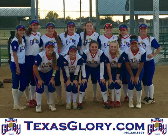 16u Texas Glory Rwb Wins Fort Worth Division Of Lone Star Camp And Scrimmage Softball Pictures Athlete Texas