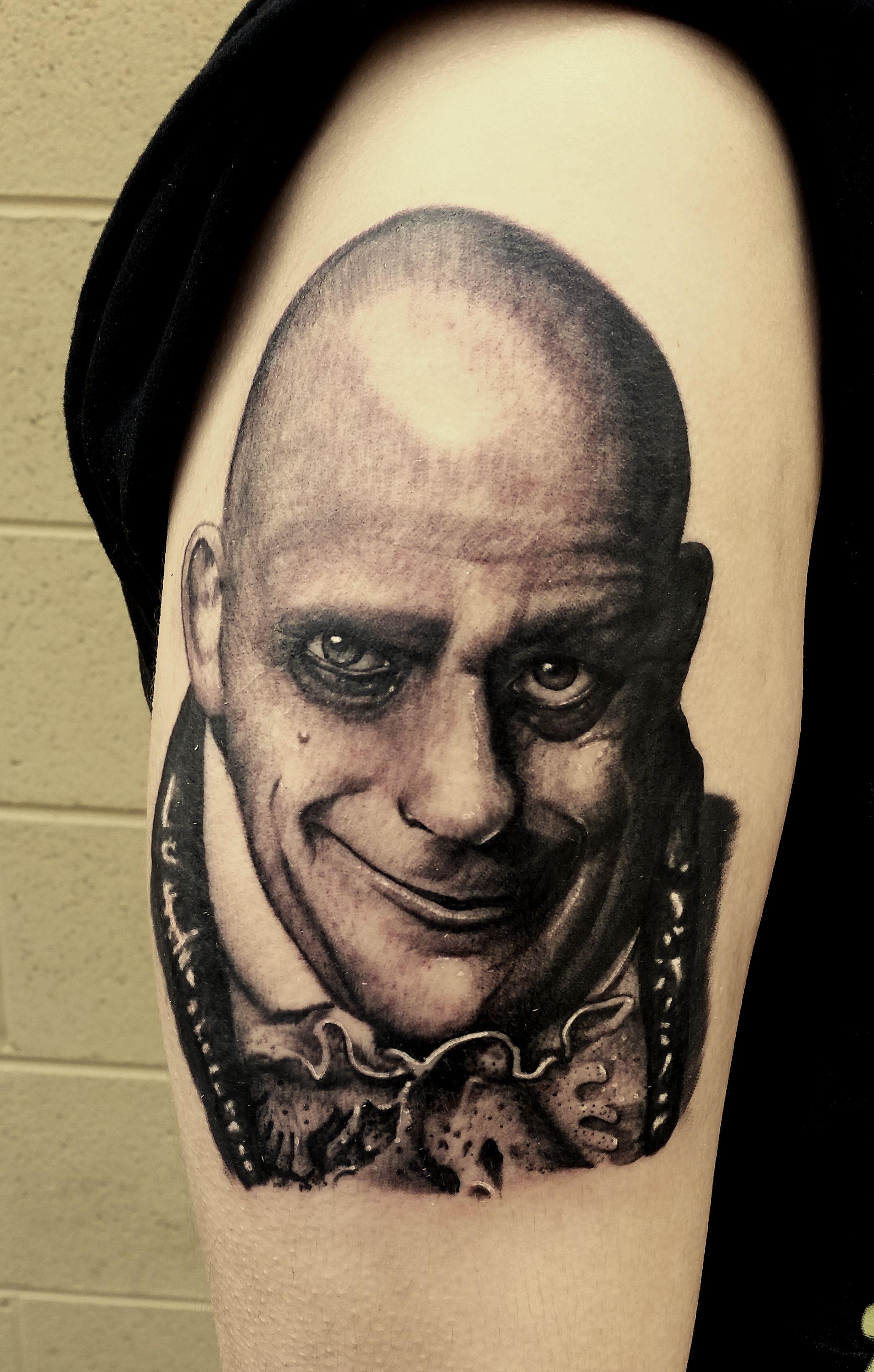Uncle Fester portrait by Kris Ford! portrait
