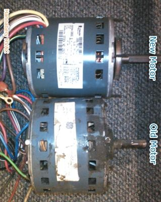 Noisy Indoor Unit Loud Furnace Old Worn Out Motor Being
